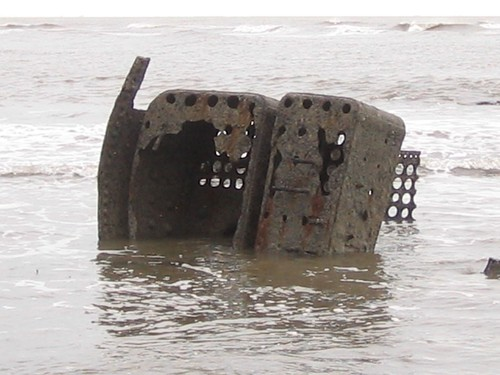 Boiler from a shipwreck ?