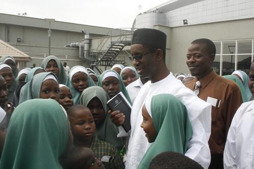 Nuhu Ribadu Meets With School Children @ MM2 Ikeja by Jujufilms