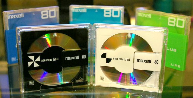 Minidisc Shipment from Hong Kong