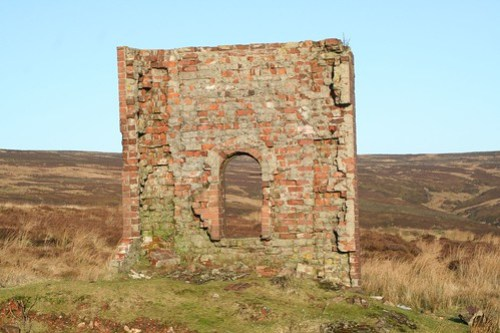 Rosedale Ironstone Railway Ruined Building