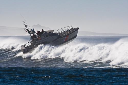 Coast Guard 47' Motor Lifeboat in Morro Bay, CA 04 Dec 2007