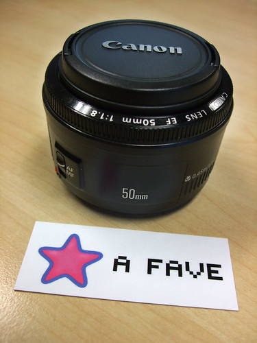 50mm lens - Instant Fave!