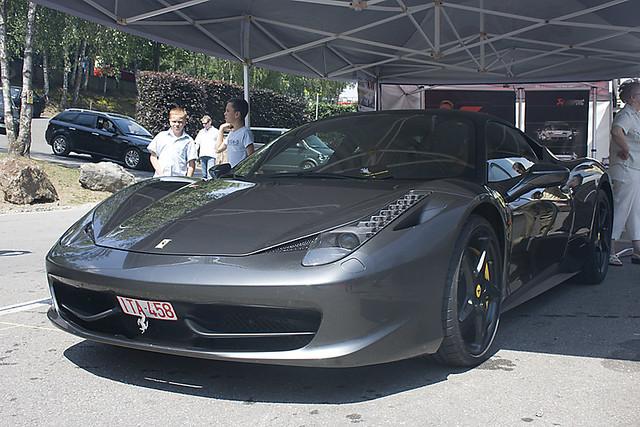 Ferrari 458 Italia Akrapovic