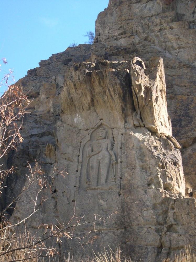 Kargah Buddha near Gilgit