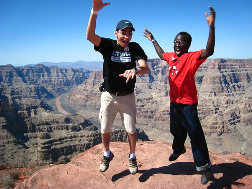 A Las Vegas trip in 2008: Casey Palmer and his best friend Rami go out to the Grand Canyon and tempt fate with a daring picture.