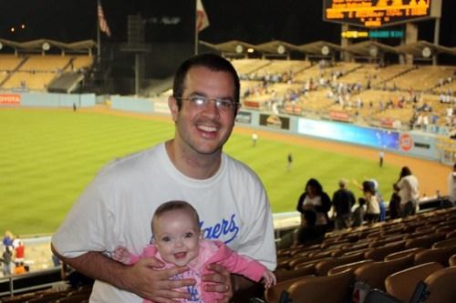 two Dodger fans