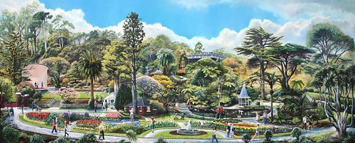 Botanic Gardens, Wellington, New Zealand (main entrance) by The Viscount of Jive