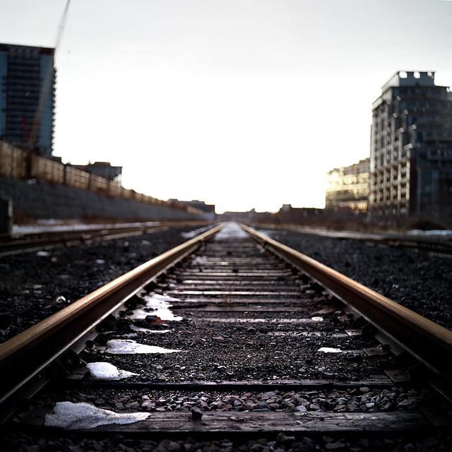 Vanishing Railroad