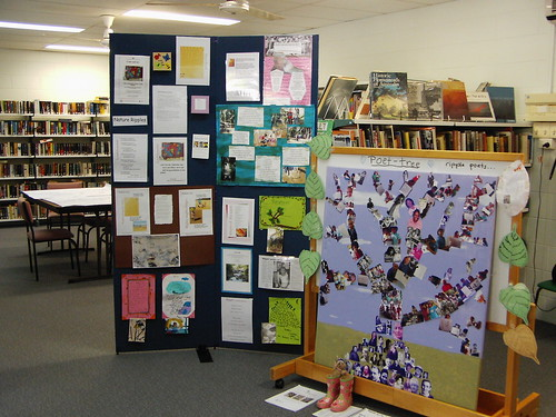 Mission Beach library hosts poet tree