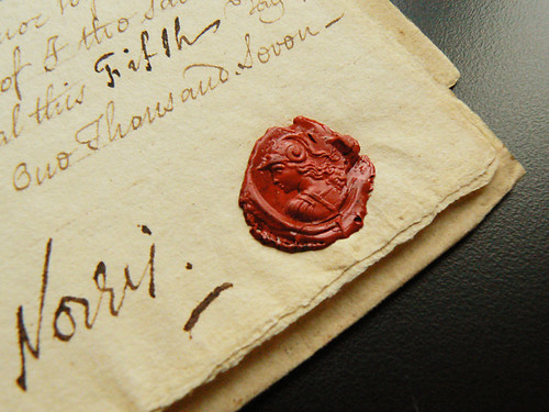 Zacharias Legal Document Collection - 1743 Power of Attorney