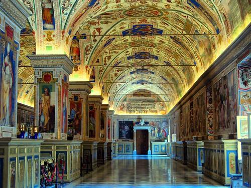 Vatican Library, Rome di bharat.rao, su Flickr