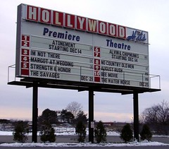 Movie sign