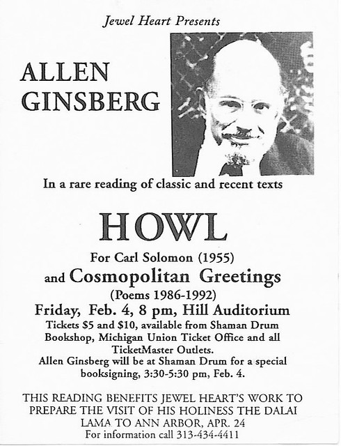 Image result for allen ginsberg hill auditorium