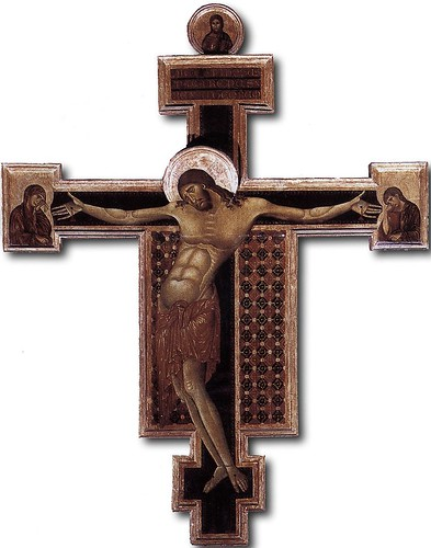 CIMABUE Crucifix, 1268-71 by carulmare