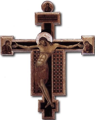 CIMABUE Crucifix, 1268-71 by carulmare
