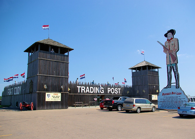 """Fort Cody Trading Post"" - North Platte, Nebraska, August 18, 2007"
