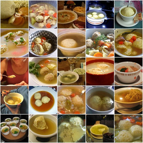 matzo ball soup mosaic