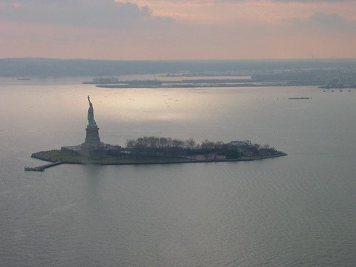 Statue of Liberty - Aerial VIew 2 by dan_dada