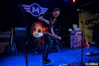 Mikey Erg @ Motorco Music Hall in Durham NC on February 22nd 2017