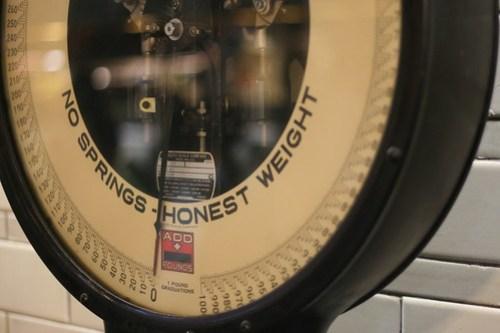 130/365: No springs - honest weight
