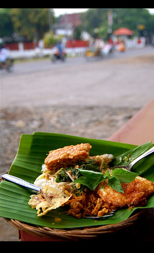 East Java : Nasi Pecel by W  M Soo
