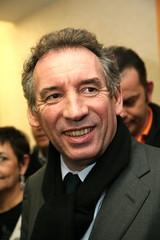 François Bayrou et Michel Fanget - Clermont-Ferrand 2008
