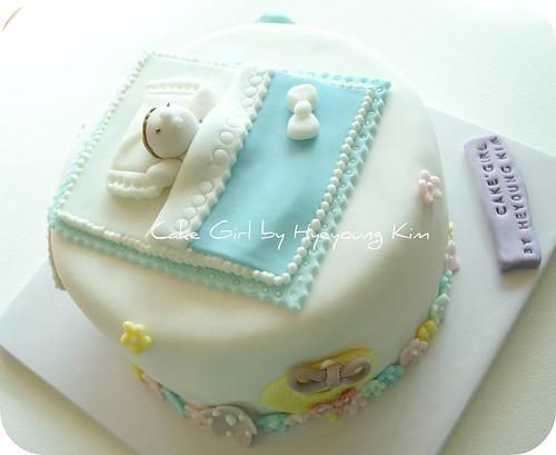 Baby Cake por Cake Girl by Hyeyoung Kim