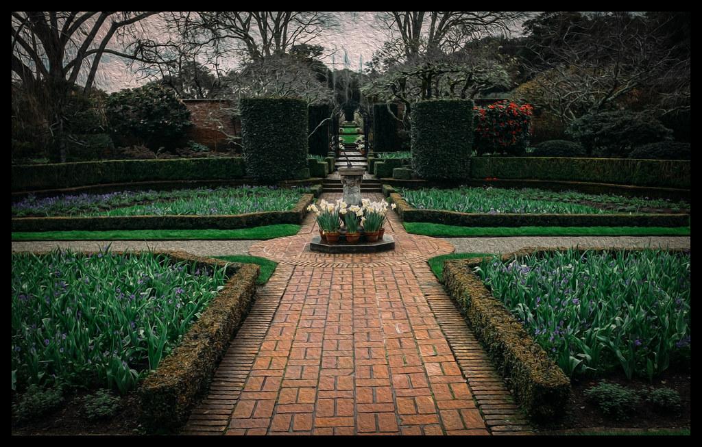 Garden Path - Filoli - 2014