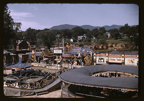 View of the grounds at the Vermont state fair, Rutland (LOC)