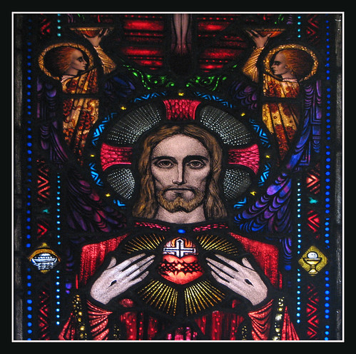 Sacred Heart of Jesus by Lawrence OP