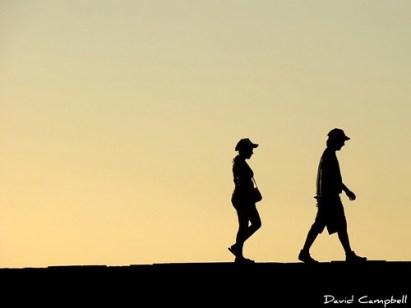 caminhar...