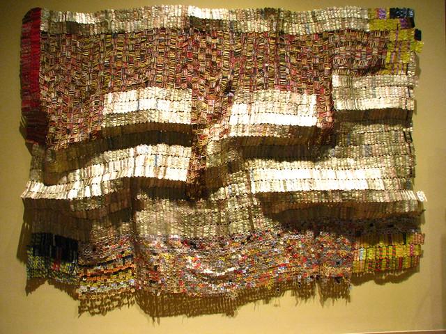 El Anatsui at the Met