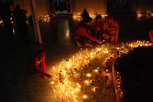 Diwali Candles - Golden Temple
