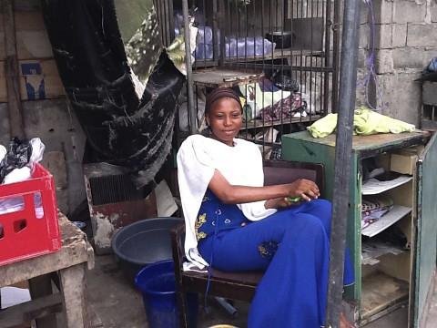 Latifah - Lagos Island Nigeria by Jujufilms