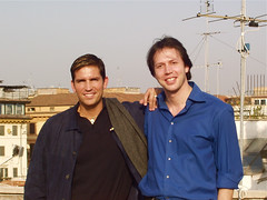 Jim Caviezel and Manuel de Teffé
