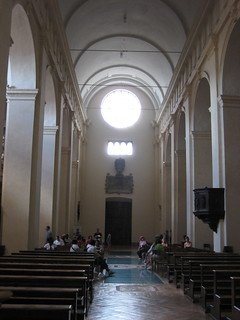 Inside San Ruffino. Assisi.