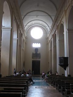 Inside San Ruffino. Assisi.