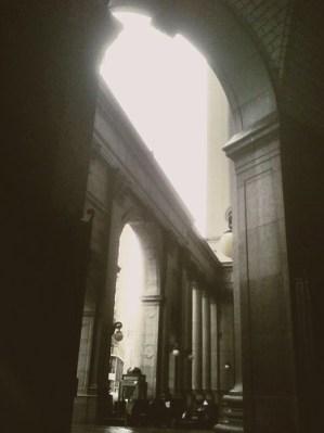 City Hall arches
