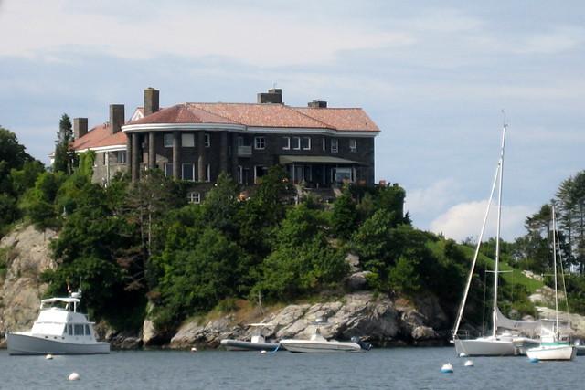 RI Newport Beacon Rock Beacon Rock The Acropolis Of