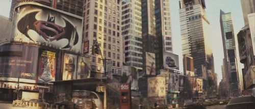 "Batman vs. Superman Poster in ""I Am Legend"""