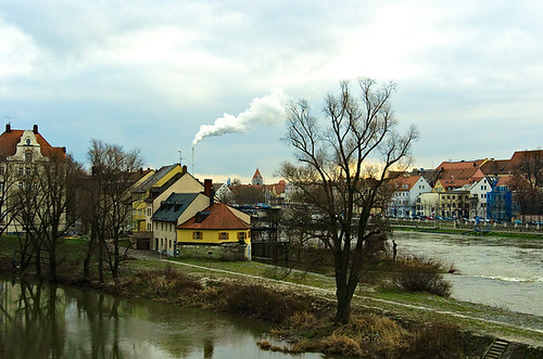 Regensburg Danau Contrasty