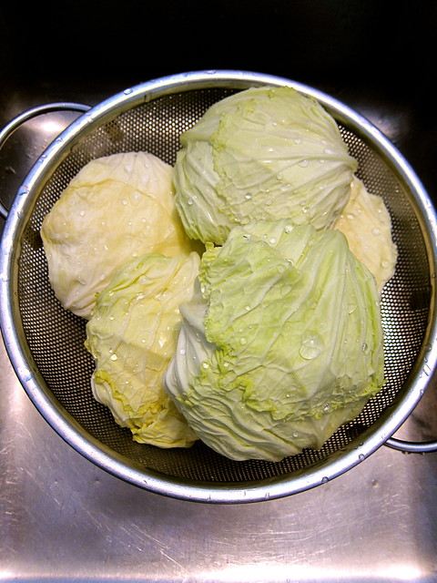Stuffed Cabbage in the Trôo Style