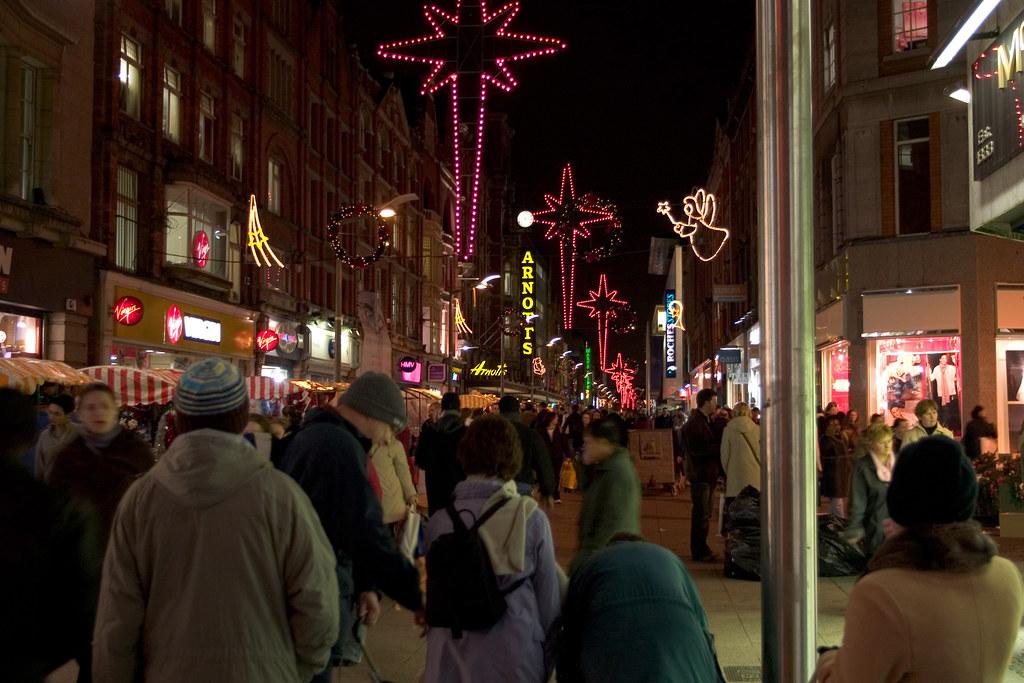 Christmas shopping, Dublin, where to stay in dublin