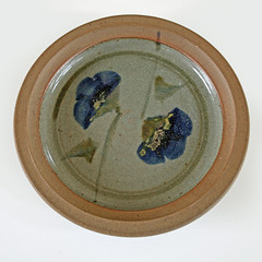 Milton Moon. Dish with pansies