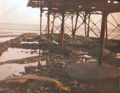 Redcar Pier Demolition 1981
