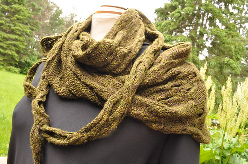 Cliffs of Insanity scarf