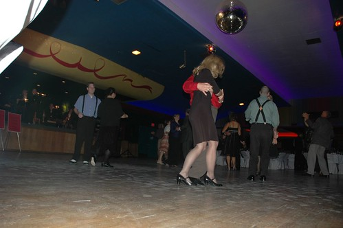 AIA members dancing at the Val Air