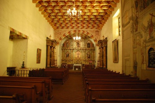 San Francisco Mission Interior