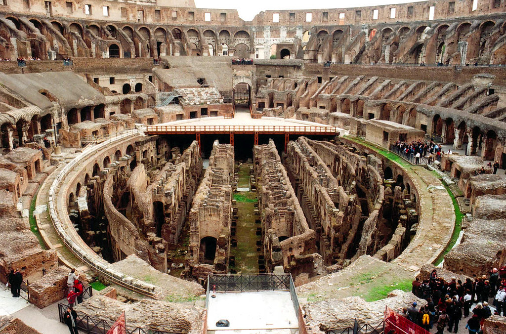200-0 years old Colosseum, City of Rome, Italy