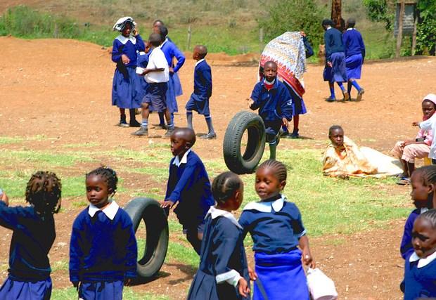 Pupils, Liberty School, Kenya